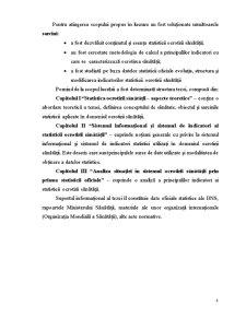 Statistica Ocrotirii Sanatatii, Analiza Situatiei in Republica Moldova - Pagina 4