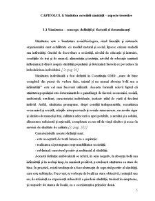 Statistica Ocrotirii Sanatatii, Analiza Situatiei in Republica Moldova - Pagina 5