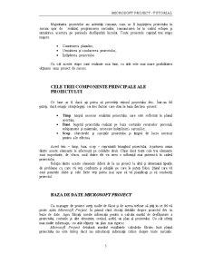 Microsoft Project Tutorial RO - Pagina 5