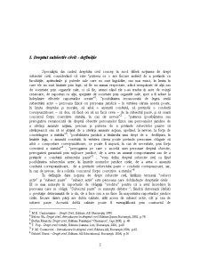 Drepturile Subiective Civile, Elemente ale Continutului Raportului Civil - Pagina 3