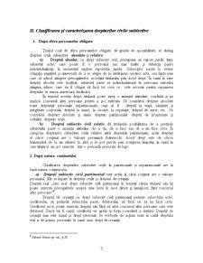 Drepturile Subiective Civile, Elemente ale Continutului Raportului Civil - Pagina 5