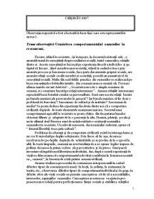 Observatie Sociologica - Comportamentul Oamenilor in Restaurant - Pagina 2