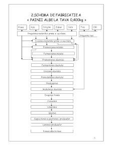 Tehnologia Fabricarii Painii Albe la Tava de 400 grame - Pagina 5