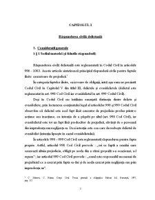 Raspunderea Civila si Delictuala - Pagina 3