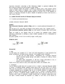 Analiza Structurii Financiar-Patrimoniale a Intreprinderii - Pagina 3