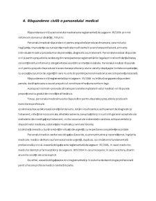 Asigurarea de Raspundere Civila pentru Malpraxis in Domeniulo Sanatatii - Pagina 4