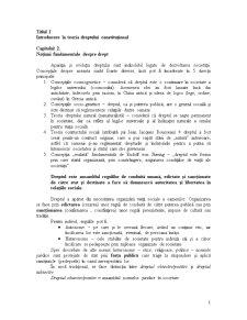 Introducere în Teoria Dreptului Constituțional - Pagina 1