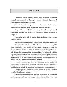 Comunicatia - Birotica - Pagina 1