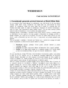 Webdesign - Pagina 1