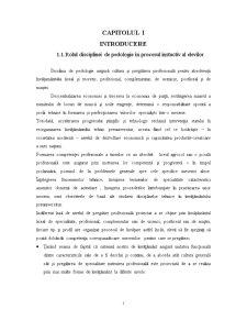 Pedagogie - Pagina 1