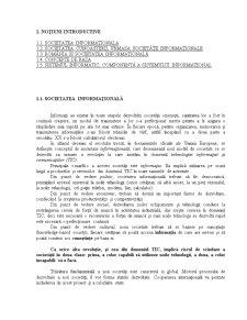 Bazele Informatiei - Notiuni Introductive - Pagina 1