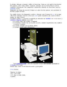 Bazele Informatiei - Componentele Hardware ale Calculatorului - Pagina 3