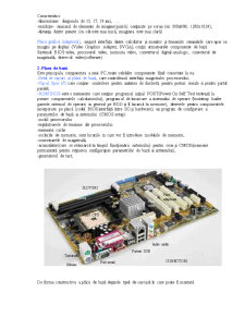 Bazele Informatiei - Componentele Hardware ale Calculatorului - Pagina 4