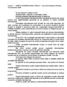 Drept Internațional Public - Pagina 1