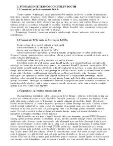 Comunicatii prin Bluetooth - Pagina 2