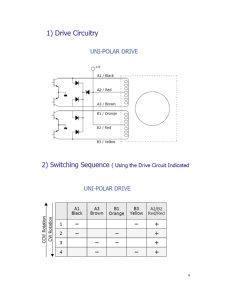 Comanda unui Motor Pas cu Pas Folosind Microcontrollerul PIC12F 675 - Pagina 4