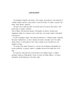Gestiunea Lichidității și Solvabilității în Cadrul Întreprinderii - Pagina 2