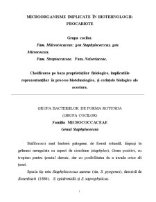 Microorganisme - Pagina 1