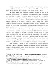 Conceptul de Comunicare - Introducere in Teoria Comunicarii - Pagina 2