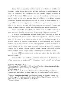 Conceptul de Comunicare - Introducere in Teoria Comunicarii - Pagina 3