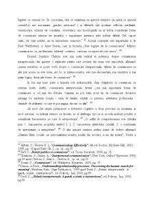 Conceptul de Comunicare - Introducere in Teoria Comunicarii - Pagina 5