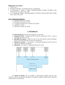 Curs Sisteme de Operare - Pagina 1
