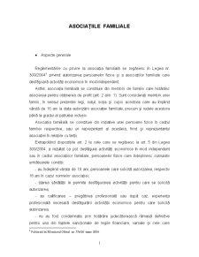 Asociațiile Familiale - Pagina 1