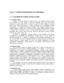 Teoria Sistemelor - Pagina 1