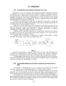 Proiectarea unui Circuit de Comanda pentru un Motor Pas cu Pas - Pagina 3