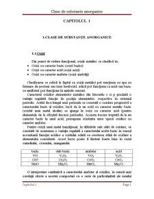 Reactivitatea Substanțelor Anorganice - Pagina 2