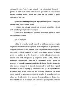 Apa in Natura, Poluarea Apei Consecintele Poluarii Apelor si Protectia Apelor - Pagina 5