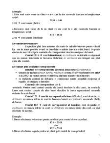 Contabilitate Bancara - Decontari Interbancare si Intrabancare - Pagina 2