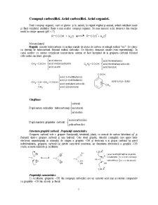 Compusi Carboxilici - Acizi Carboxilici - Acizi Organici - Pagina 1