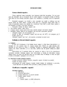 Clasificarea Compușilor Organici - Pagina 1