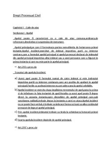 Drept Procesual Civil - Pagina 1