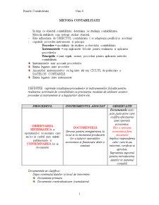 Metoda Contabilitatii - Pagina 1
