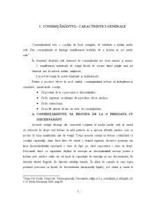 Consimtamantul Partilor la Incheierea Actului Juridic Civil - Pagina 2