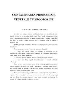 Contaminarea Produselor Vegetale cu Ergotoxine - Pagina 2