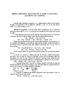 Hidrocarburile - Pagina 1