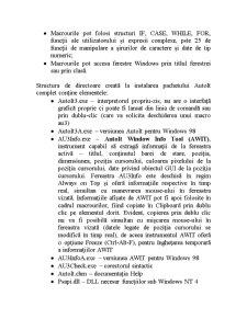 Elemente de Limbaj AUTOIT - Pagina 3