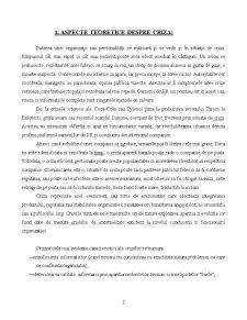 Rolul Mass-Media in Gestionarea Situatiilor de Criza - Studii de Caz - Criza Raluca Stroescu - Criza Tylenol - Pagina 3