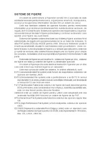 Sisteme de Fișiere - Pagina 1
