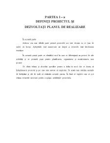 Gestiunea Proiectului - Pagina 1