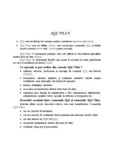 Baze de Date SQL - Pagina 1