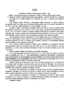 Infracțiuni Săvârșite de Funcționarii Publici - Pagina 1