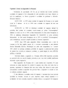 Evolutia Pietei Asigurarilor si Reasigurarilor in Romania in Ultimii 5 Ani - Pagina 1