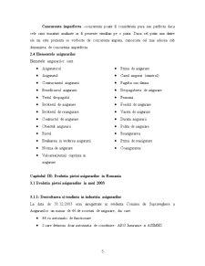 Evolutia Pietei Asigurarilor si Reasigurarilor in Romania in Ultimii 5 Ani - Pagina 5