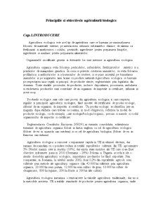Principiile și Obiectivele Agriculturii Biologice - Pagina 1