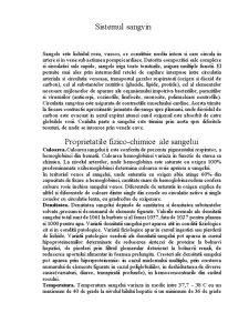 Sistemul Sangvin - Pagina 1