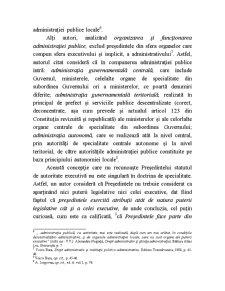 Definiția și Trăsăturile Administrației Publice prin Prisma Constituției din 1991 Revizuite și Republicate - Pagina 3